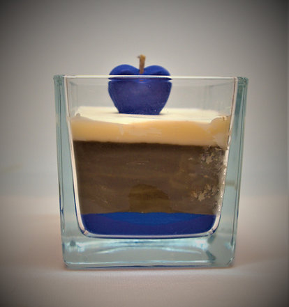 Love In a Candle Blue 50 hr Burn