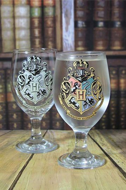 Harry Potter Colour Changing Glass Hogwarts