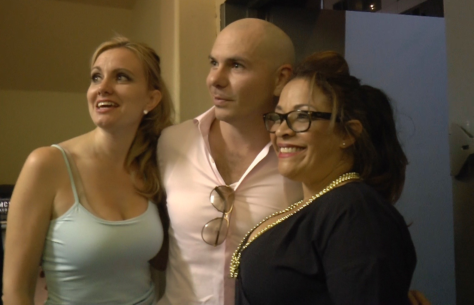 Pitbull with Jen & Cookie
