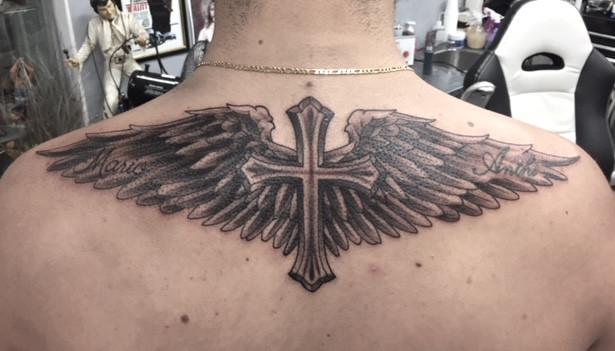 cross and wings tattoo.JPG