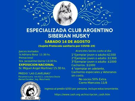 Club Argentino Siberian Husky