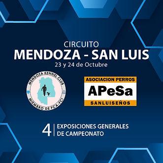 Circuito Mendoza Kennel Club - Asociación Perros Sanluiseños