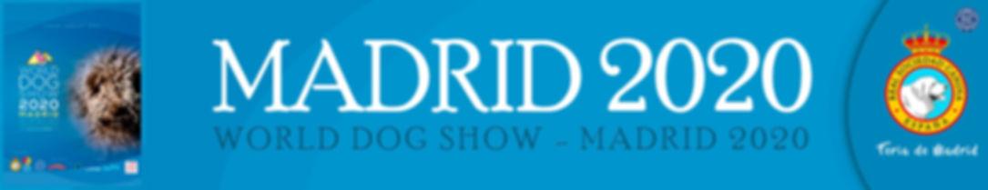WORLD DOG SHOW - MADRID 2020