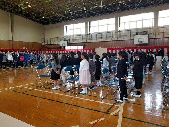🌸間々田小学校入学式