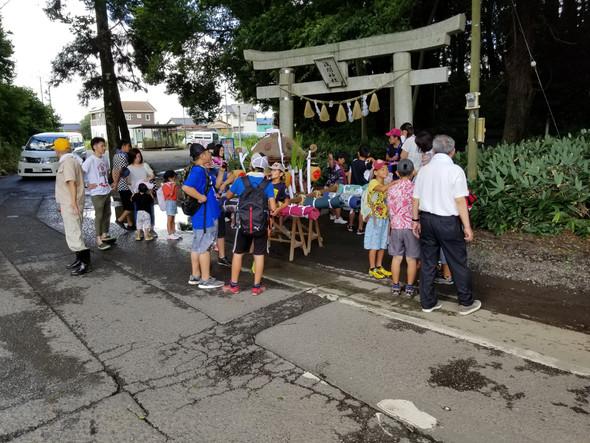 🍧千駄塚 夏祭り