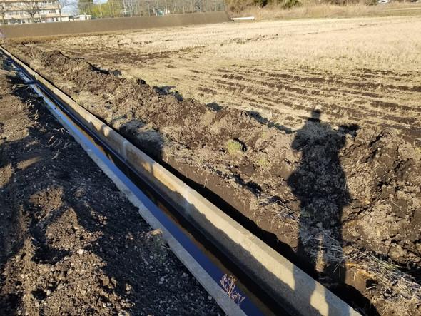 🌾田んぼ用水路の復旧
