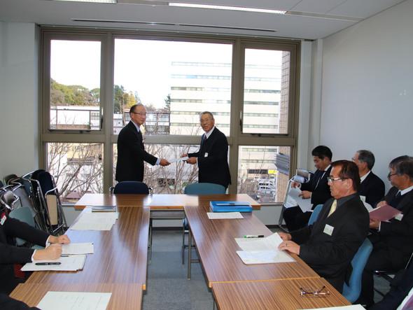 🌲県への要望活動:        千駄塚古墳の復旧について