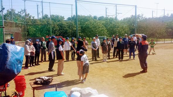 ◆小原自治会の消防訓練