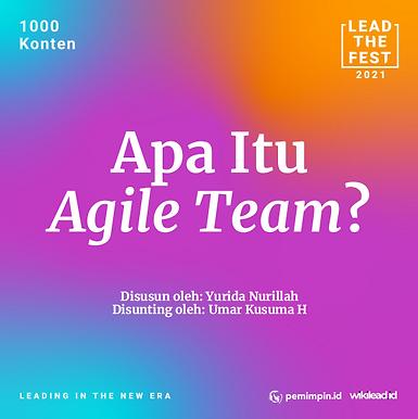 Apa Itu  Agile Team