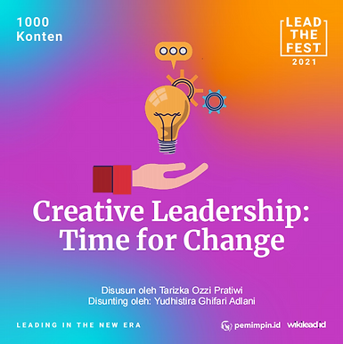 Creative Leadership: Time for Change