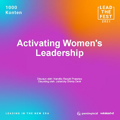 Activating Women's  Leadership