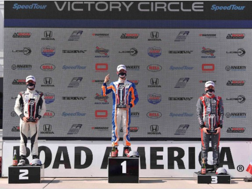 News Flash: Mac Clark Sweeps the Day at Road America