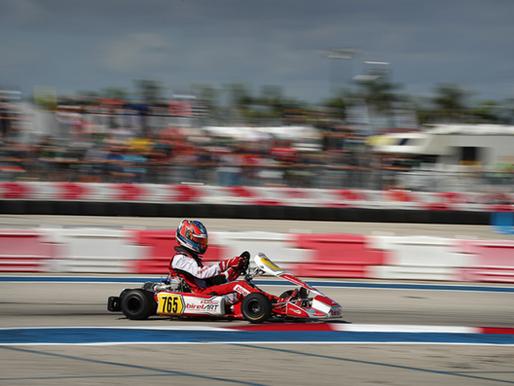 Mackenzie Clark Scores Race Win at SKUSA Winter Series in Florida