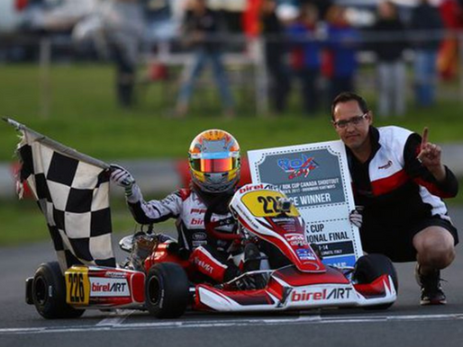 Campbellville teen continuing family's karting success
