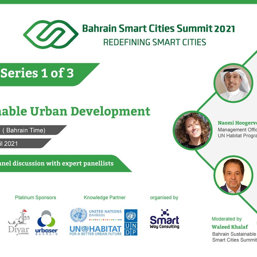 Sustainable Urban Development Online Panel Discussion