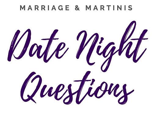 Date Night Questions: Pre-Sale