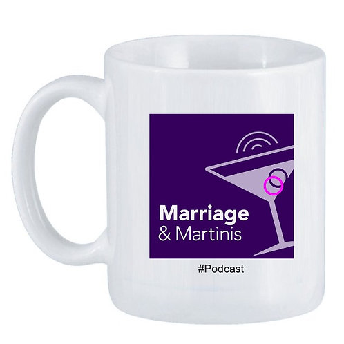 Marriage & Martinis Coffee Mug