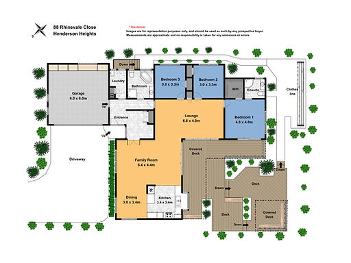 floor Plan 88 Rhinevale Close