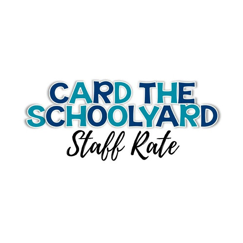 Staff Card the Schoolyard