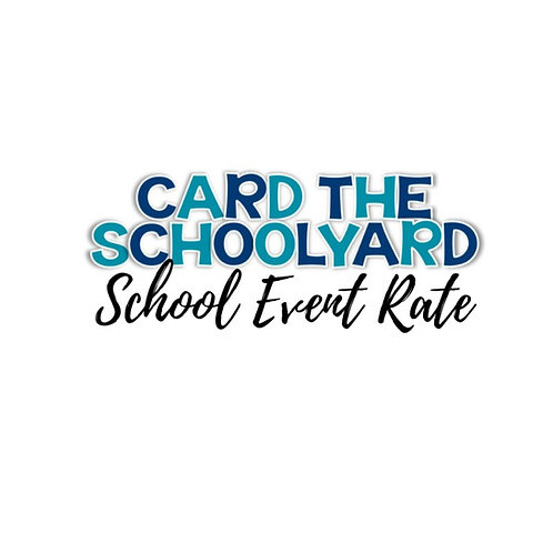 School Event Card the Schoolyard