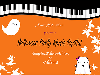 'COVER_JYMA Halloween Piano Recital 2018