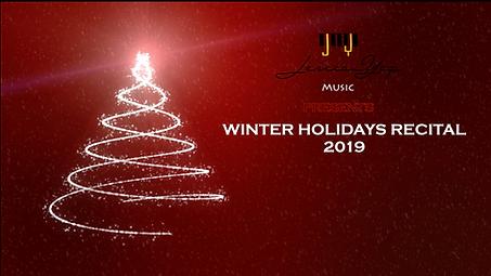 'COVER_JYMA Winter Holidays Recital 2019