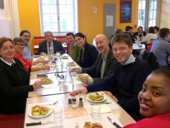 Visite de la délégation Colombienne
