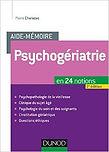 psychogériatrie, charazac, dunod, aide-mémoire