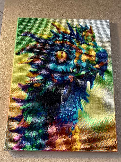 Dragon - Diamond Art on Canvas