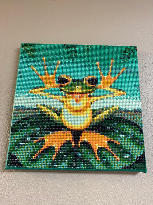 Frog - Diamond Art on Canvas