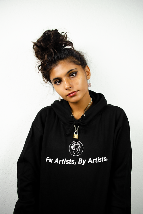 """""""For Artists, By Artists"""" Hoodie"""