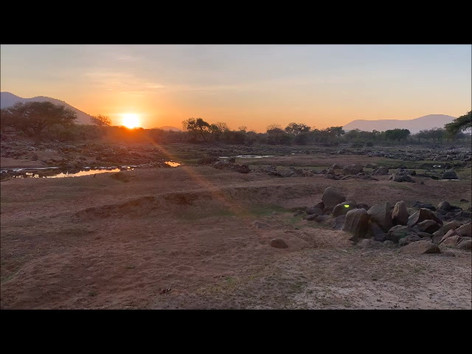 Ruaha River sunrise