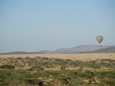 Balloon over the Serengeti
