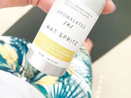 Uplift your Pilates experience - Pilates Mat Spray