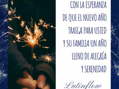 Los mejores deseos para el Año Nuevo!!