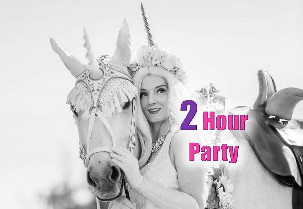 In Person Unicorn Party (2 hr)