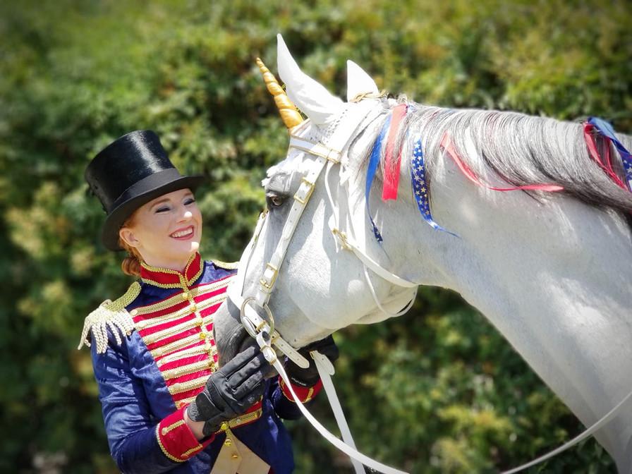 Milo the Unicorn - Vintage American Circ