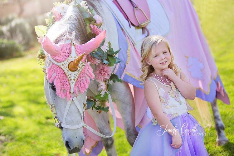 Milo the Unicorn-Royal Pink Purple Paste