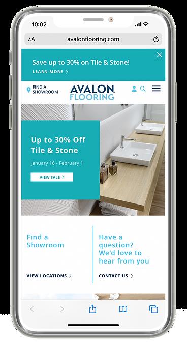 AV TSV Sale Site Feature Phone Mockup 01