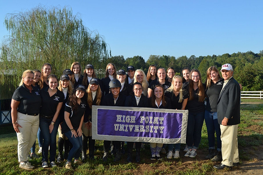 High Point University Equestrian Team