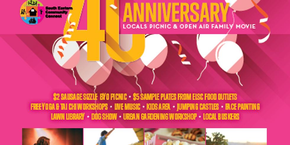 SECC 40th Anniversary Locals Picnic & Open Air Family Movie