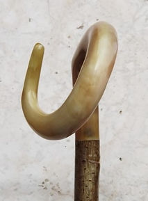 Natural curl Sheep horn