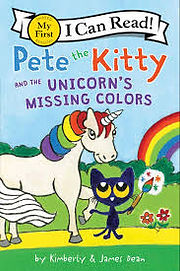 pete the kitty and the unicorns missing