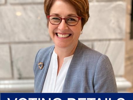 Katie's Vision & Critical Ballot Drop Box Info