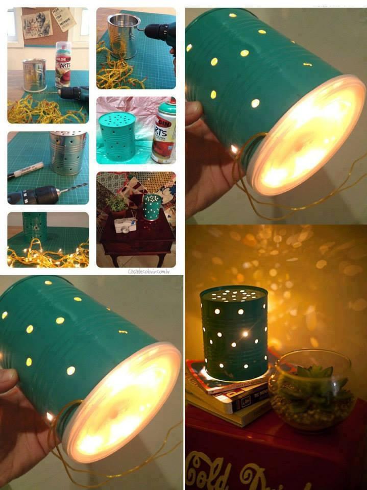 Luminária Reciclável