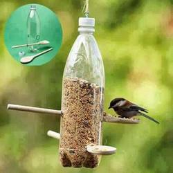 Comedouro de Pássaro Reciclável
