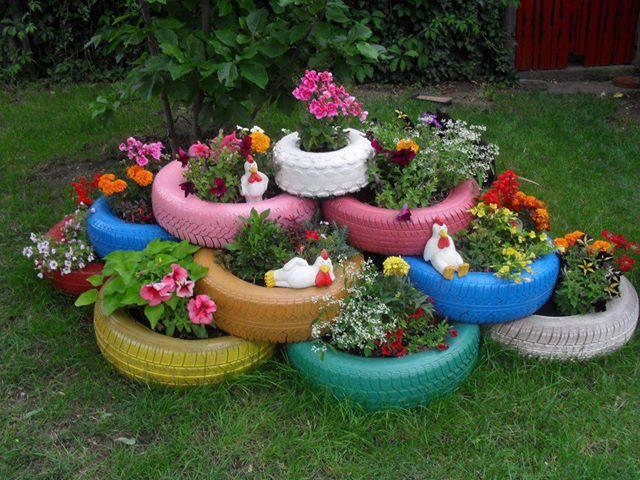 Jardim sustentável