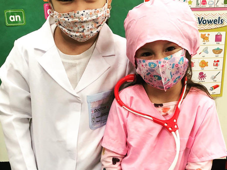 Future healthcare workers here at Espin!