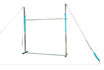 Quick Release Horizontal Bar with men's or women's rail and tension system