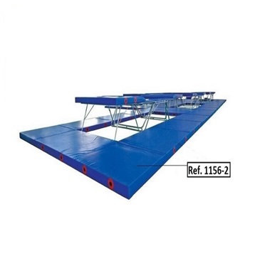 Landing mats for competition trampoline  (2 trampoline combination) FIG approved
